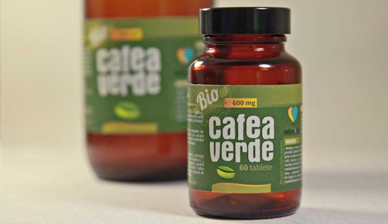 design etichete cafea verde